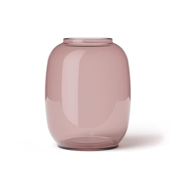 Lyngby Porcelæn - Form Vase 140/2, burgundy