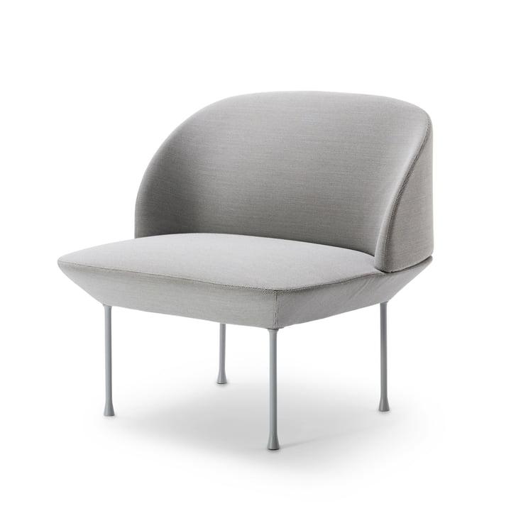 Muuto - Oslo Lounge-Chair, steelcut 160