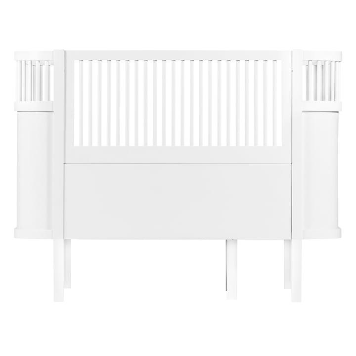 Le Sebra lit Baby & Junior en blanc