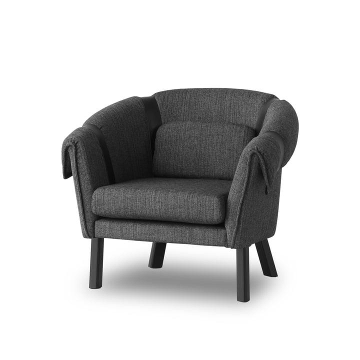 Design House Stockholm - Ram Easy Chair, gris foncé