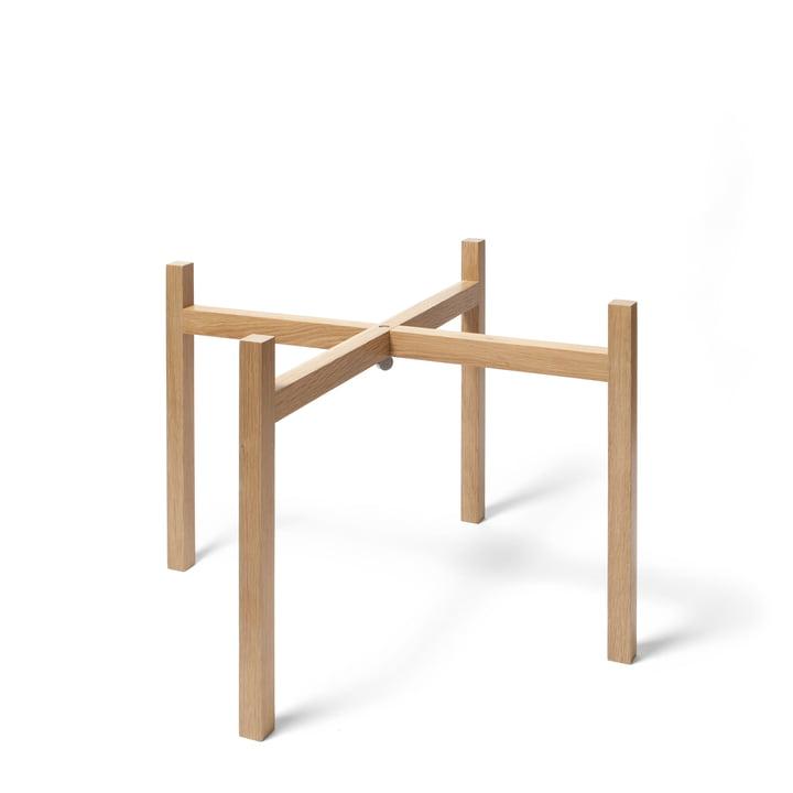 Design House Stockholm - Piètement pour table d'appoint Tablo, chêne/H 40cm