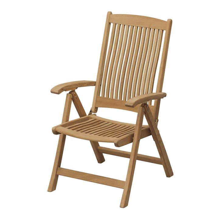 Columbus Chair, non-capitonnée par Skagerak en bois de teck