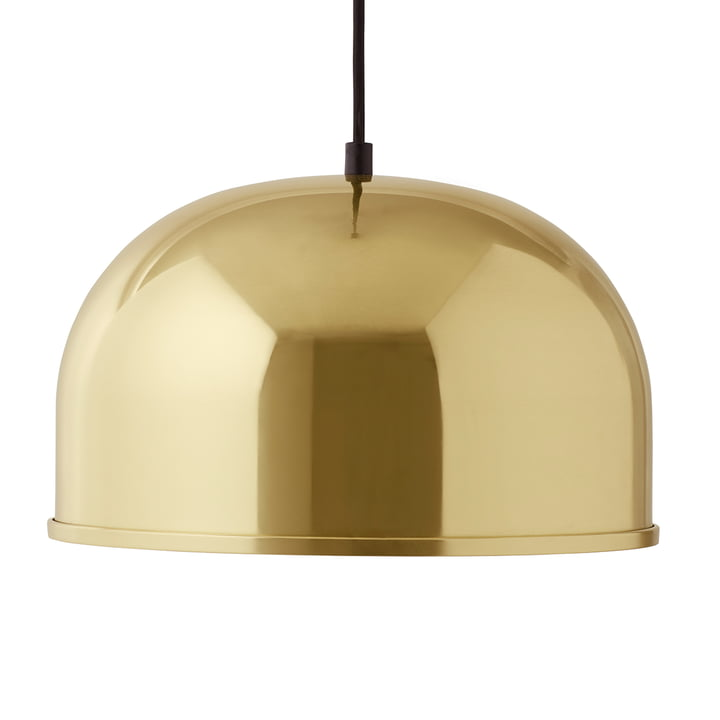 Suspension lumineuse GM 30 de Menu en laiton