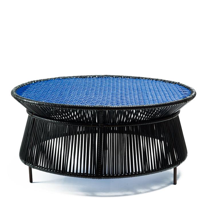 Ames - caribe Low Table, noir / bleu / marron