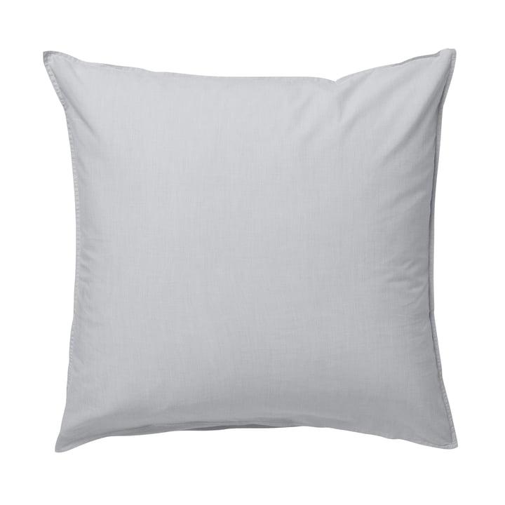 Taie d'oreiller Hush 80 x 80 cm par ferm living en gris clair