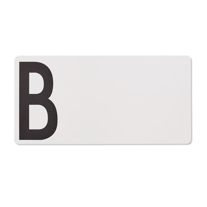 Planche à découper B (bread: pain) par Design Letters en gris