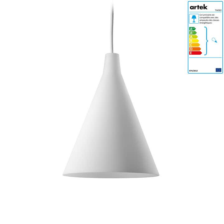 Artek - Suspension lumineuse Triennale TW002, blanc
