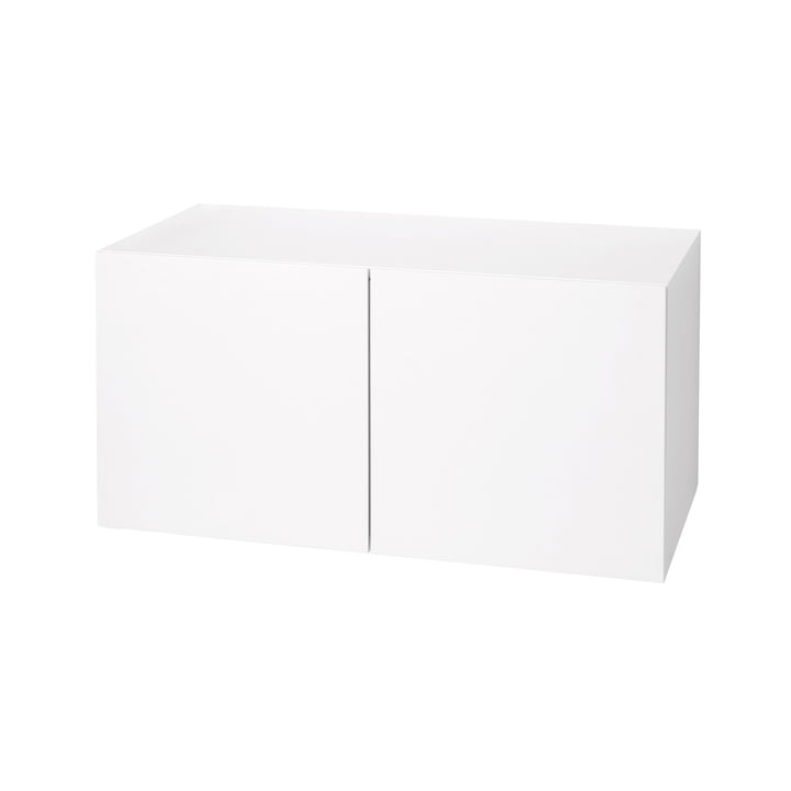 Coffre/banc Urban 1070 de Schönbuch en blanc neige (RAL 9016)