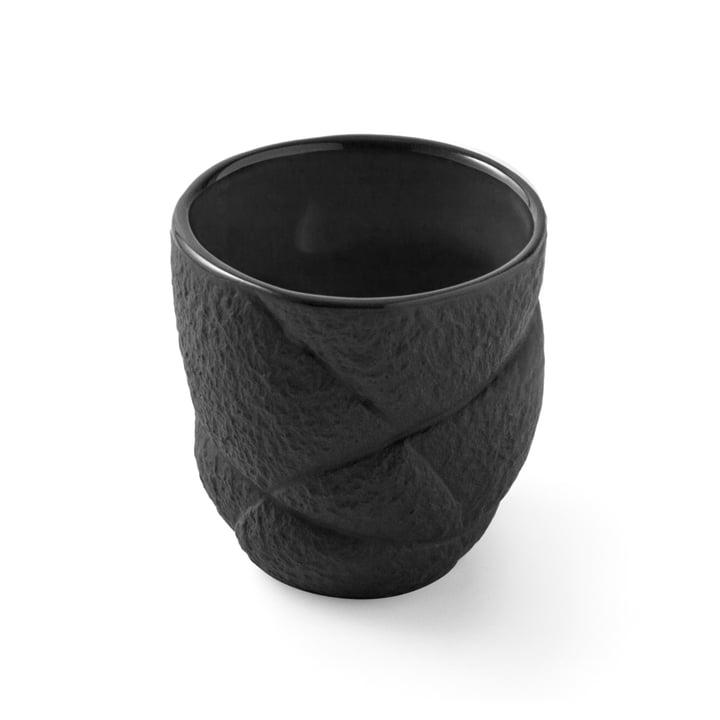Tasse à expresso Succession 8cl de Petite Friture en noir