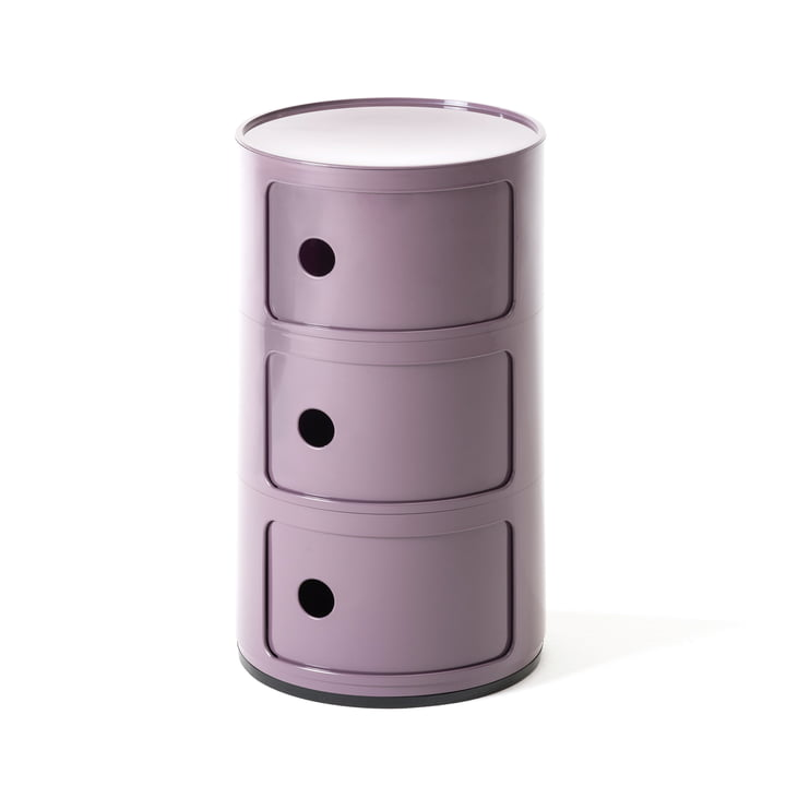 Componibili 4967 by Kartell in purple