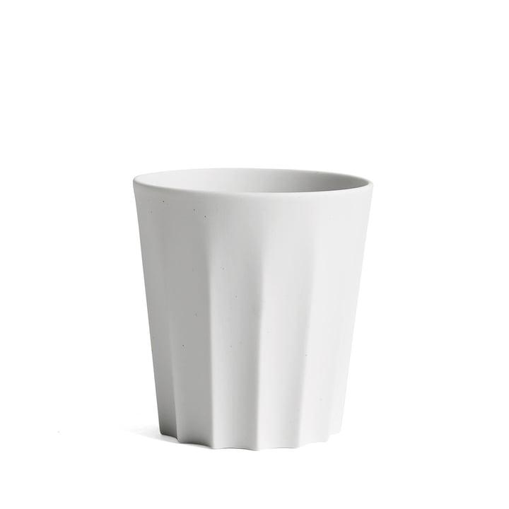 Hay - Tasse Iris carrée, blanc crème