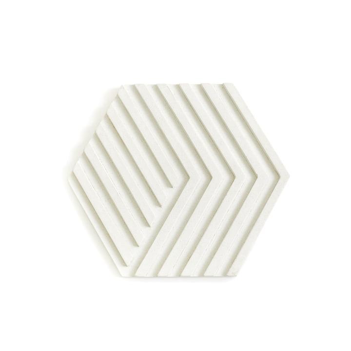 Dessous de plat Concrete Trivet d'Areaware en blanc
