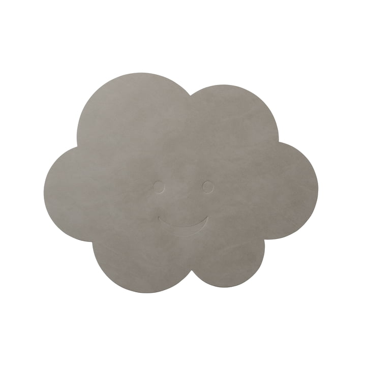 Set de table Nuage 38 x 31 cm de LindDNA en gris clair nupo (1,6 mm)