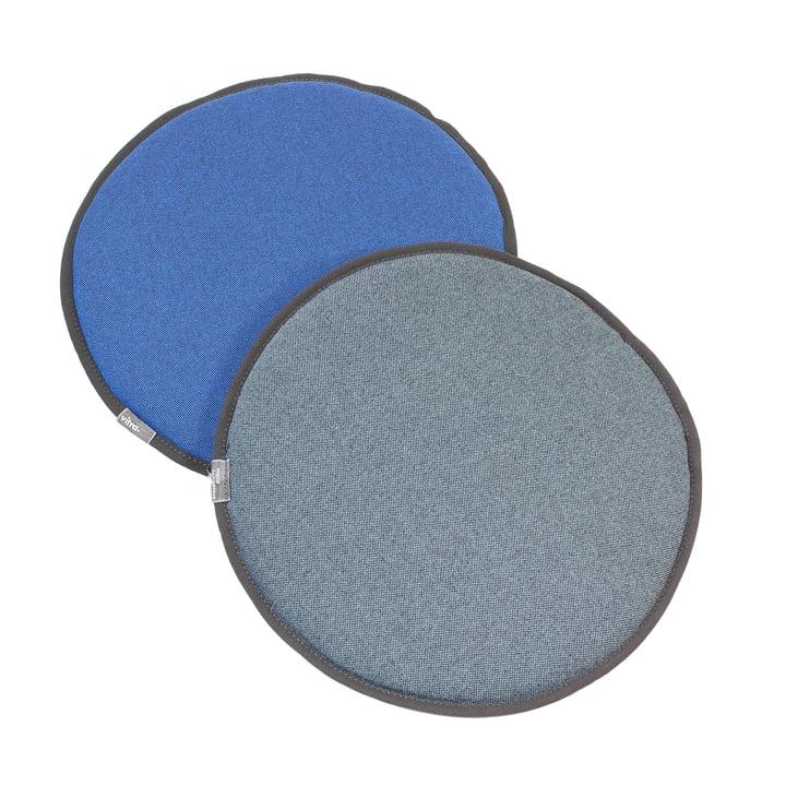 Vitra - Seat Dots, bleu / coconut