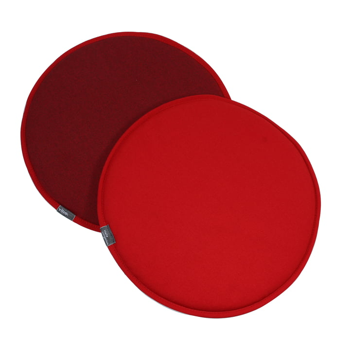 Vitra - Seat Dots, rouge / coconut