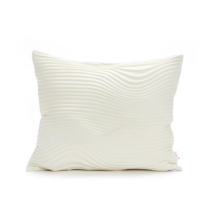 Mika Barr - Housse de coussin Storm, 50 x 45 cm, crème