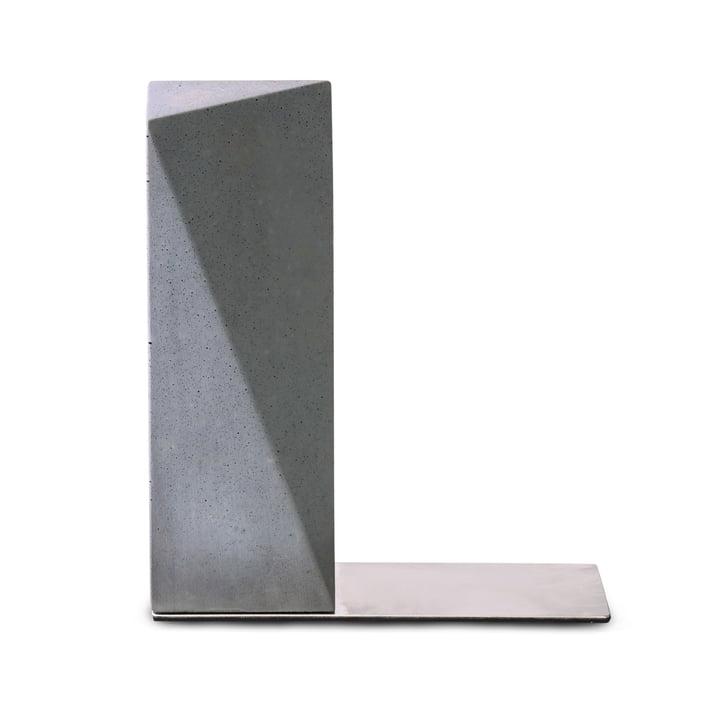Serre-livres Nordwand de Korn en gris