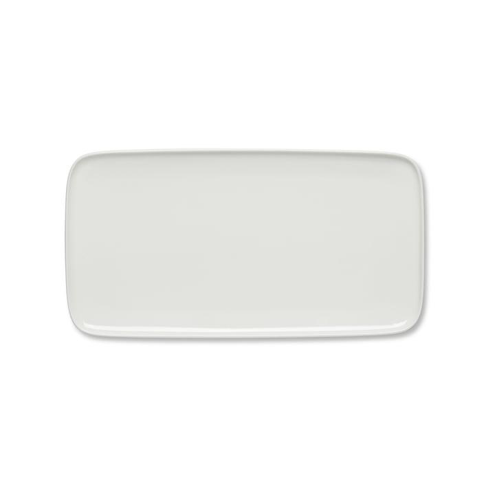 Plateau de service Oiva 16x30cm de Marimekko en blanc