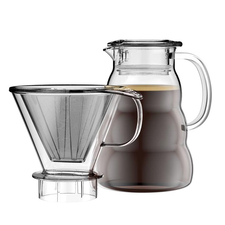 Cafetière Melior avec filtre permanent 1l par Bodum