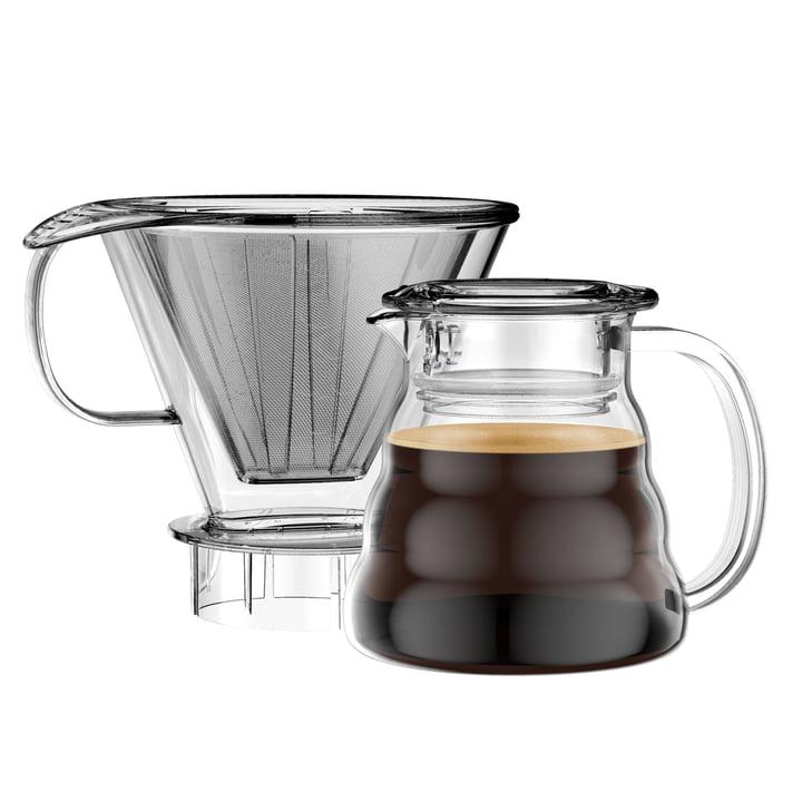 Cafetière Melior avec filtre permanent 0,6l par Bodum