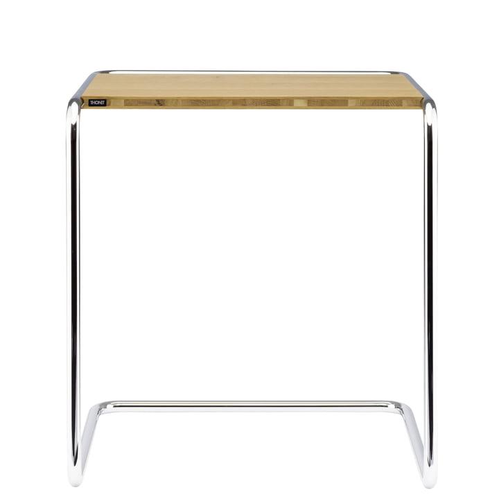 Table gigogne B 97 de Thonet en chrome / bois de chêne huilé (Pure Materials)