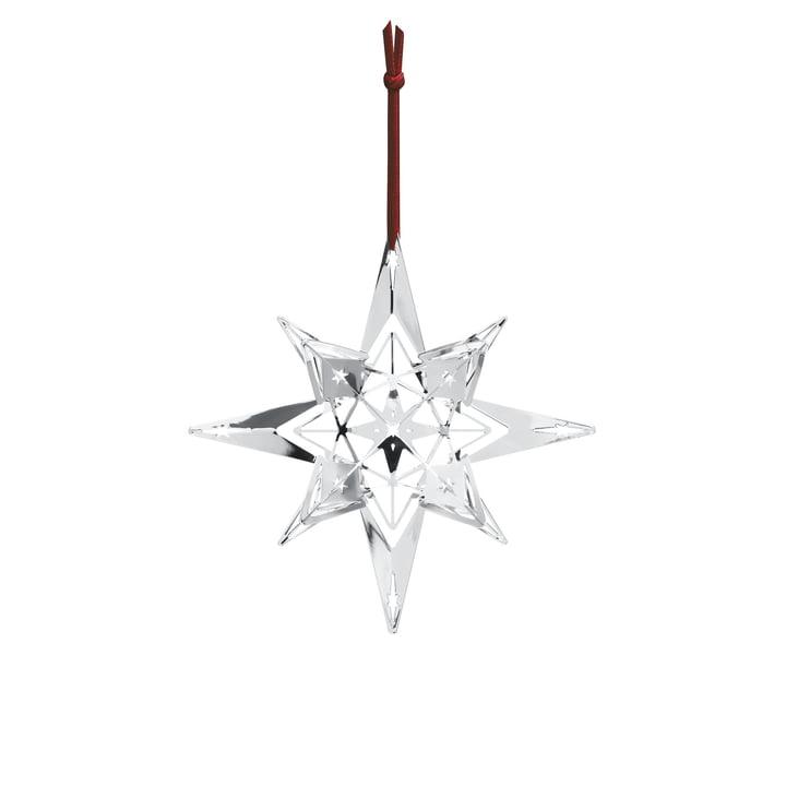 Rosendahl-Décoration de Noël Étoile H 13 cm en argenté