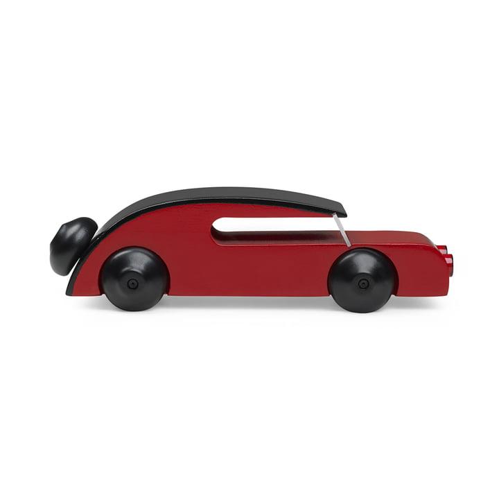 Voiture Sedan 13 cm de Kay Bojesen en noir / rouge