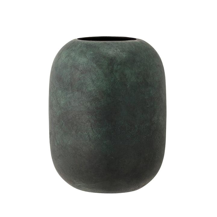 Le vase en métal, H18cm de Bloomingville en vert