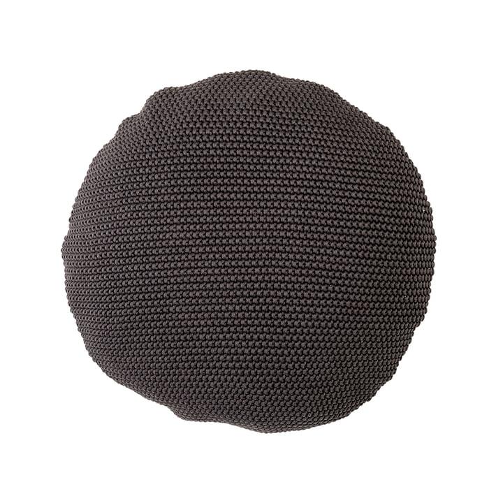 Bloomingville - Coussin en coton, Ø50 cm, gris