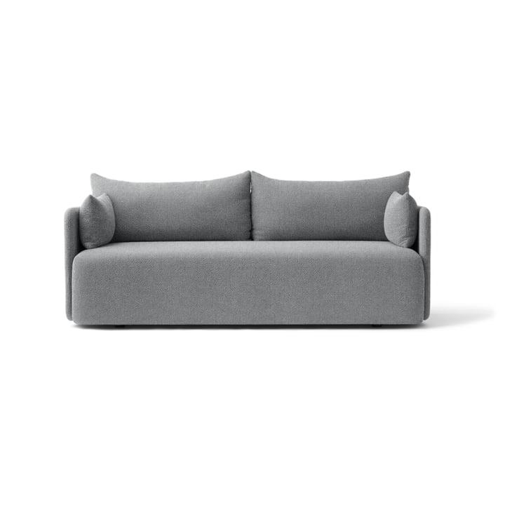 Le canapé Offset 2places de Menu en gris clair (Hallingdal130)
