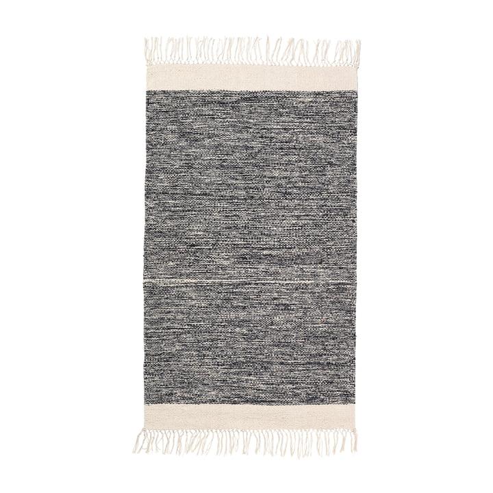 Tapis de bain Melange 60 x 100 cm de ferm Living en noir