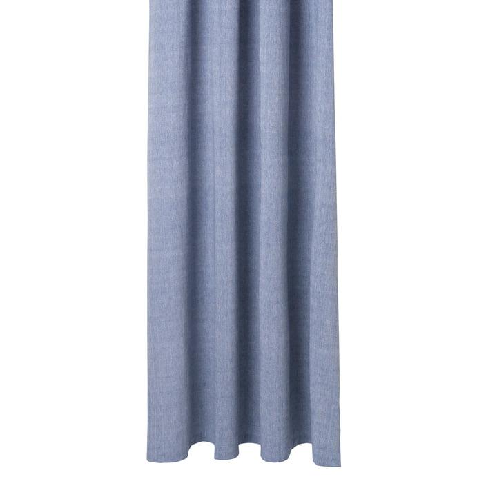 Chambray Rideau de douche de ferm Vivre en bleu