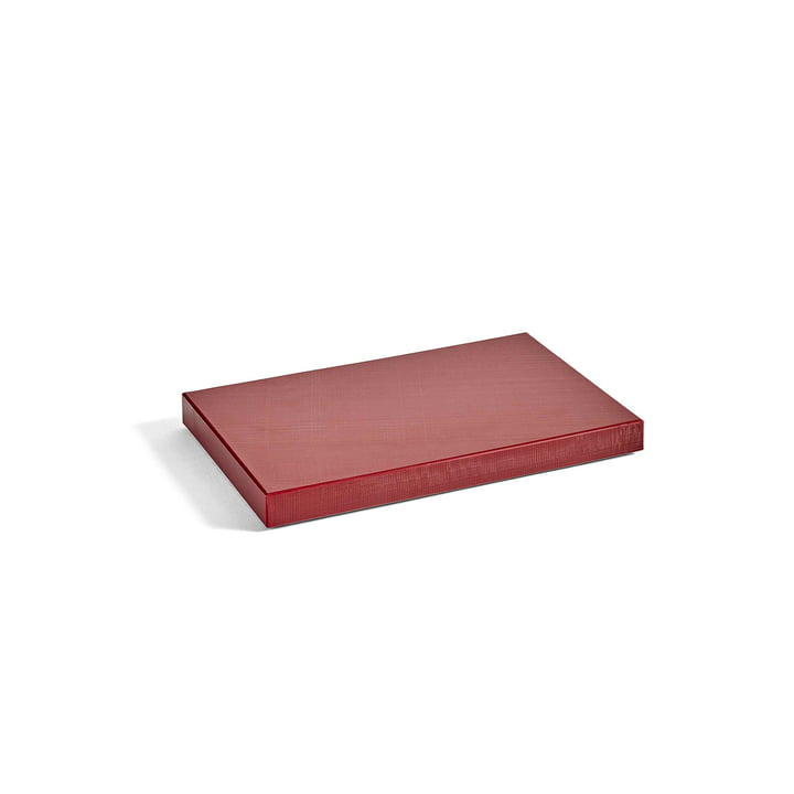 Planche à découper rectangulaire M par Hay en bordeaux