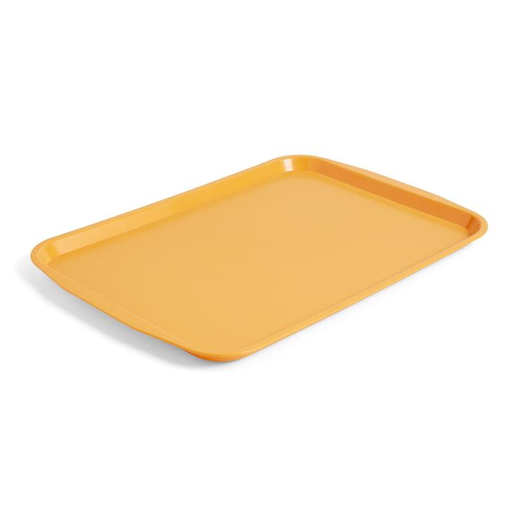 Le plateau de cantine de Hay en L, 53x37cm en jaune