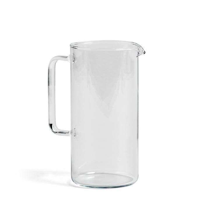Carafe L transparente, H 19,5 cm de Hay