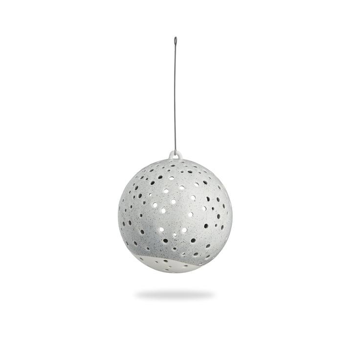 Nobili Boule de bougie à chauffe-plat Ø 12 cm suspendue à Kähler Design en gris