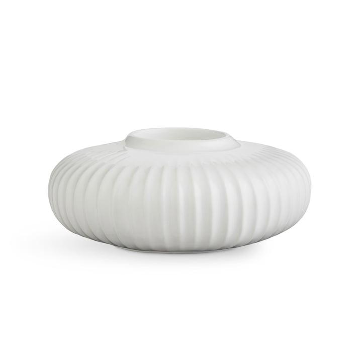 Hammershøi Teelichthalter H 5 cm von Kähler Design in Weiss