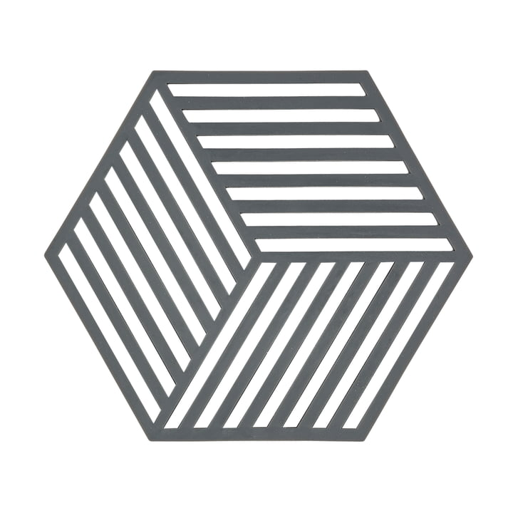 Zone Denmark - Dessous de plat Hexagon en gris