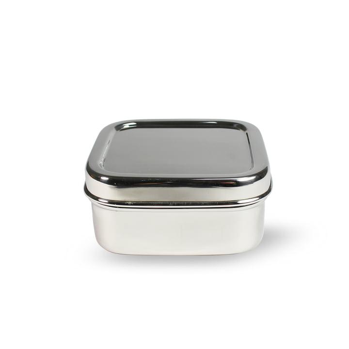 Lunchbox en acier carrée XS par Hay