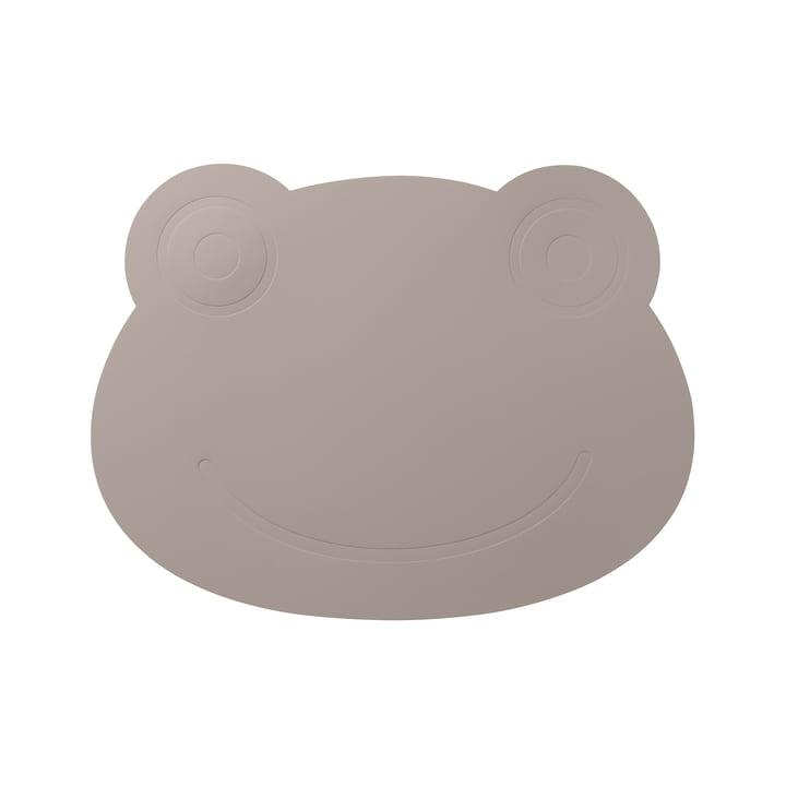 Le LindDNA - La table des enfants grenouilles en gris froid softbuck