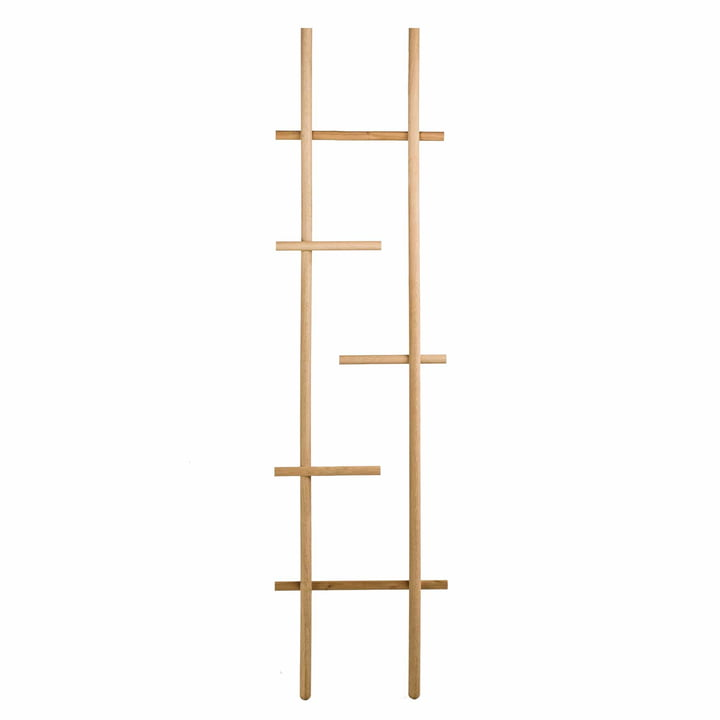kommod - L'échelle / Le portemanteau Lendra en chêne