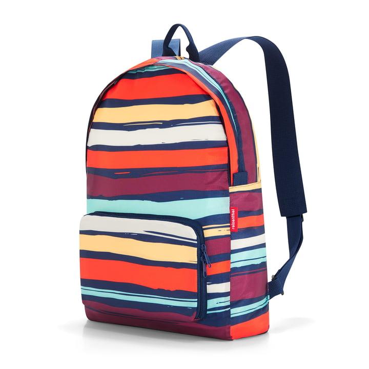 Le sac à dos mini maxi de reisenthel, artists stripes de reisenthel