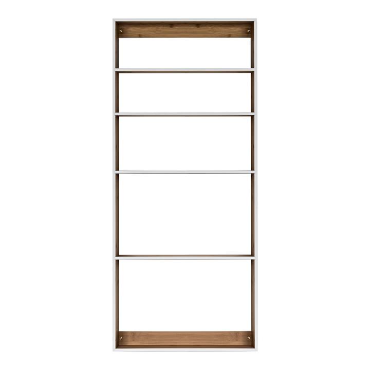 We Do Wood - Étagère Fivesquare, bambou / gris clair