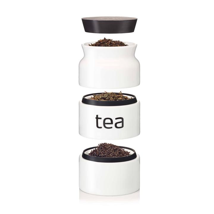 Boîte à thé d'Eva Solo en porcelaine