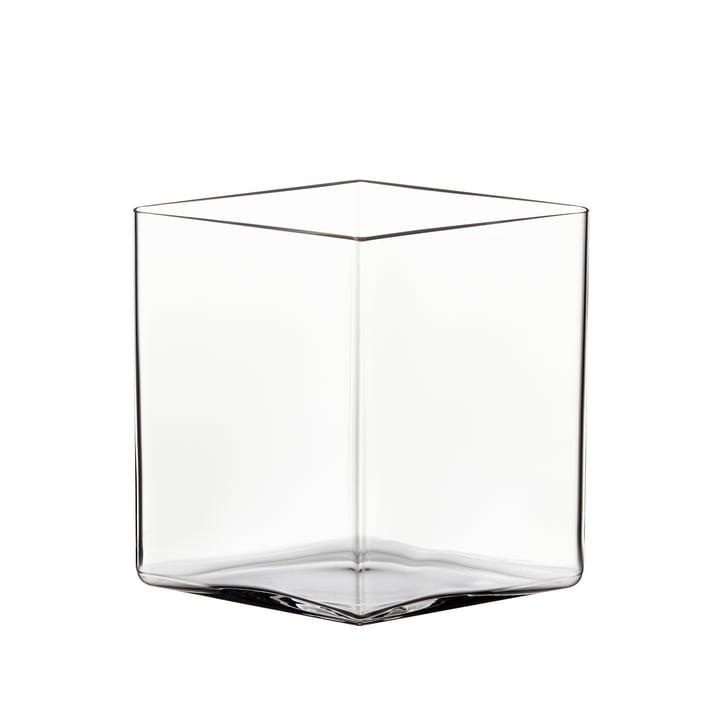 Vase Ruutu 205 x 180 mm de Iittala en clair