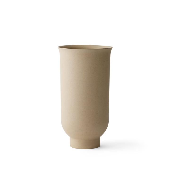 Vase Cyclades H 20 cm de Menu en sable