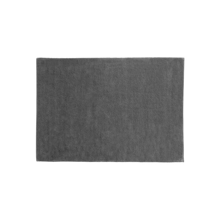 Le tapis Raw 2 par Hay, 140x200cm, gris foncé