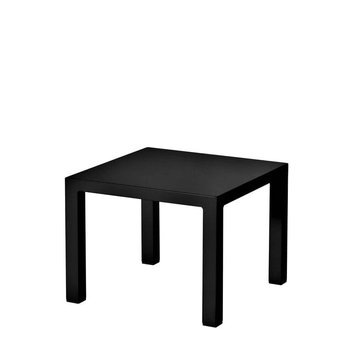 La table d'appoint Round par Emu, H42cm, 45x45cm, noir