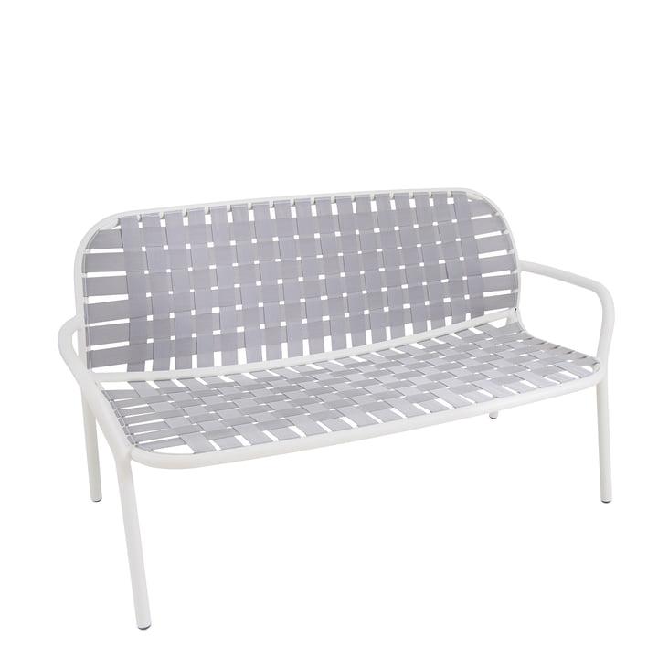 Yard Loungesofa d'Emu en blanc / gris