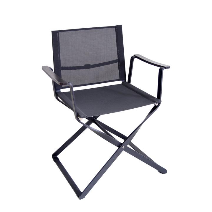 La chaise de réalisateur Ciak par Emu, noir